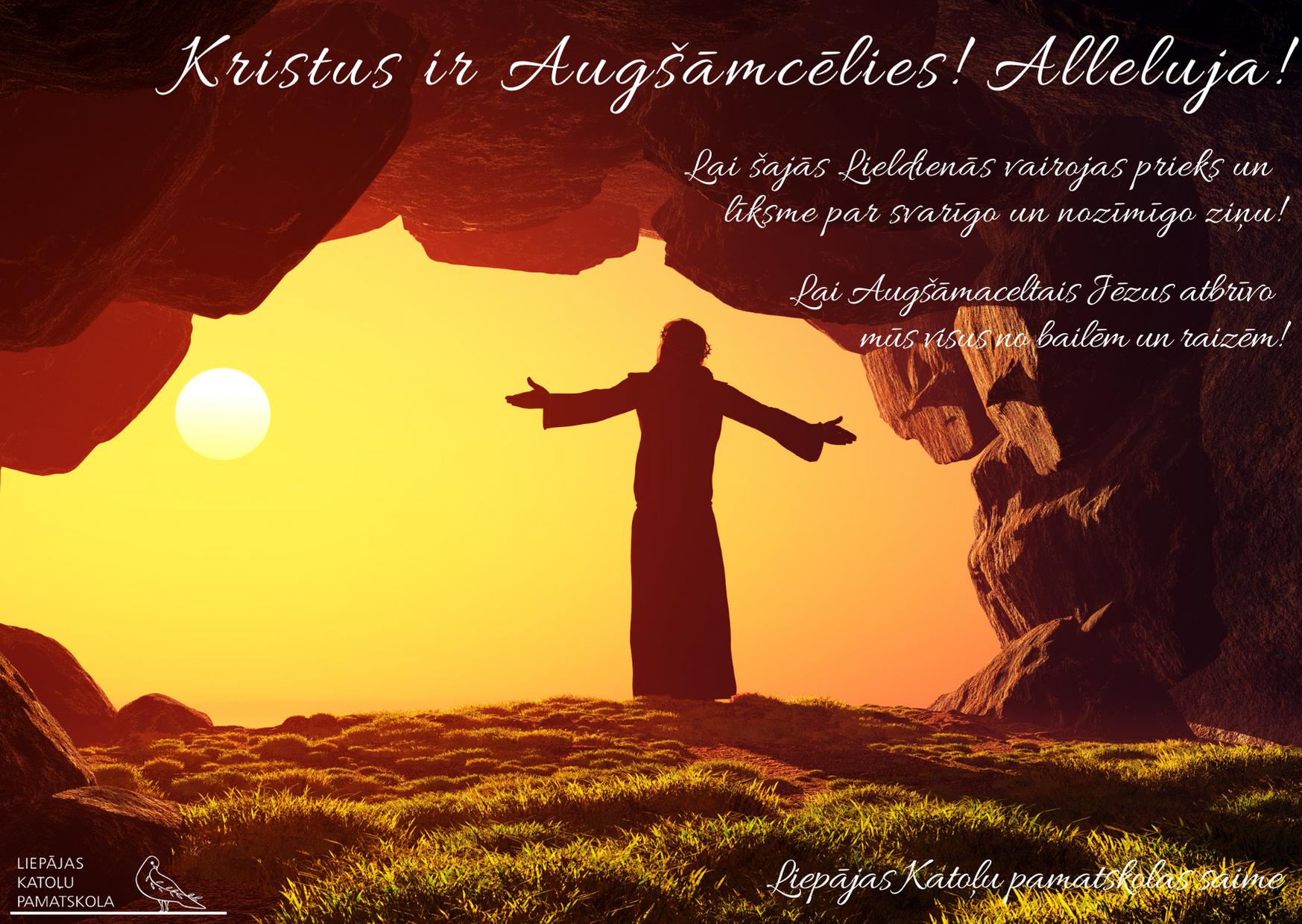 Kristus ir augšāmcēlies! Alleluja! post thumbnail image