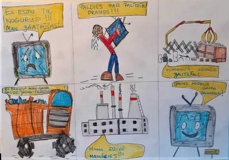 """Zīmējumu konkursa """"Štepseles ceļojums"""" rezultāti post thumbnail image"""